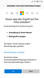 Samsung Galaxy S6 - E-Mail - Konto einrichten (outlook) - 7 / 10