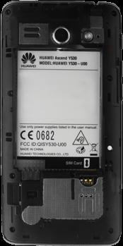 Huawei Ascend Y530 - SIM-Karte - Einlegen - 5 / 13
