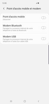 Samsung Galaxy S10 - Internet et connexion - Utiliser le mode modem par USB - Étape 7