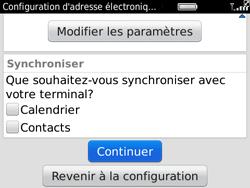 BlackBerry 9780 Bold - E-mail - Configuration manuelle - Étape 8