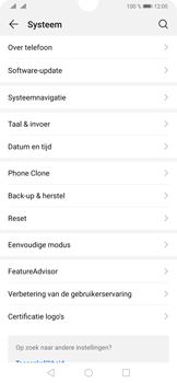 Huawei P30 - Data - maak een back-up met je account - Stap 4