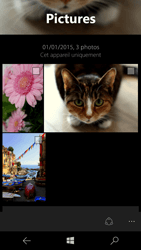 Microsoft Lumia 550 - Photos, vidéos, musique - Envoyer une photo via Bluetooth - Étape 7