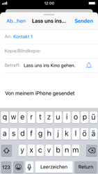 Apple iPhone SE - E-Mail - E-Mail versenden - 7 / 16