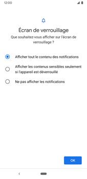 Google Pixel 3a - Sécuriser votre mobile - Activer le code de verrouillage - Étape 11