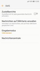Samsung Galaxy S7 - SMS - Manuelle Konfiguration - 0 / 0