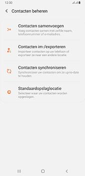 Samsung galaxy-a6-plus-sm-a605fn-ds-android-pie - Contacten en data - Contacten kopiëren van toestel naar SIM - Stap 6