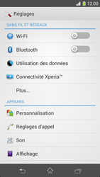 Sony Xperia Z1 Compact - WiFi - Configuration du WiFi - Étape 4