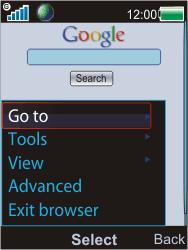 Sony W595 - Internet - Internet browsing - Step 9