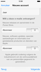Apple iPhone 5 iOS 7 - apps - account instellen - stap 16