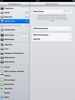 Apple iPad Retina - Internet und Datenroaming - Manuelle Konfiguration - Schritt 4