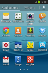 Samsung S6810P Galaxy Fame - E-mail - envoyer un e-mail - Étape 2