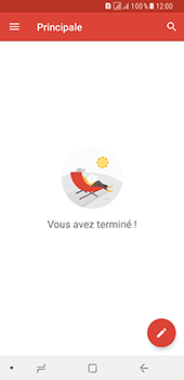 Samsung Galaxy A8 (2018) - E-mail - Configuration manuelle (gmail) - Étape 7