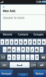 Samsung Wave 2 - Contact, Appels, SMS/MMS - Envoyer un SMS - Étape 8