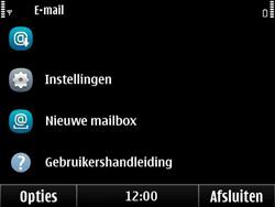 Nokia E6-00 - E-mail - Hoe te versturen - Stap 4