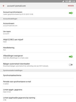 Samsung Galaxy Tab A 9.7 (SM-T555) - E-mail - Instellingen KPNMail controleren - Stap 25