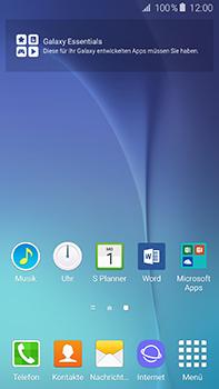 Samsung Galaxy A8 - Startanleitung - Installieren von Widgets und Apps auf der Startseite - Schritt 11