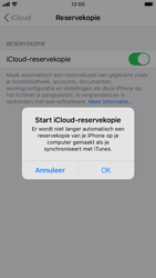 Apple iPhone SE (2020) - toestel resetten - back-up maken met jouw account - stap 13