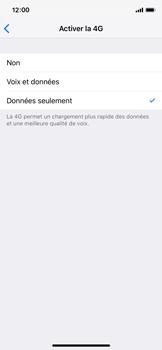 Apple iPhone X - iOS 12 - Réseau - Changer mode réseau - Étape 6