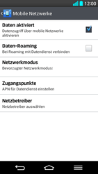 LG G2 - Ausland - Im Ausland surfen – Datenroaming - 1 / 1