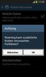 Samsung Galaxy Ace 3 - Ausland - Im Ausland surfen – Datenroaming - 2 / 2