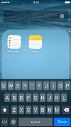 Apple iPhone 5c - iOS 8 - Getting started - Personalising your Start screen - Step 6