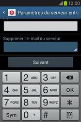 Samsung S6810P Galaxy Fame - E-mail - Configuration manuelle - Étape 11