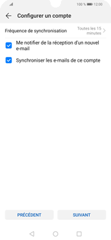 Huawei P Smart (2019) - E-mails - Ajouter ou modifier un compte e-mail - Étape 17