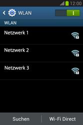 Samsung Galaxy Fame Lite - WiFi - WiFi-Konfiguration - Schritt 6