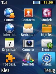 Samsung B2710 Xcover 271 - Instellingen aanpassen - Fabrieksinstellingen terugzetten - Stap 3