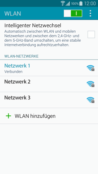 Samsung Galaxy Note 4 - WiFi - WiFi-Konfiguration - Schritt 8