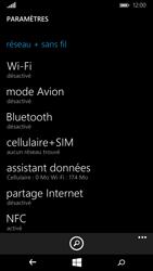 Microsoft Lumia 640 - Internet - Utilisation à l