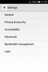 Alcatel Pixi 3 (3.5) - Internet and data roaming - manual configuration - Step 23