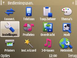 Nokia E72 - Netwerk - gebruik in het buitenland - Stap 7