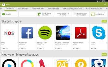 Samsung Galaxy Tab S 10.5 4G (SM-T805) - Applicaties - Downloaden - Stap 5