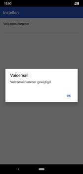 Nokia 8-1-dual-sim-ta-1119 - Voicemail - Handmatig instellen - Stap 12