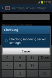Samsung Galaxy Fame Lite - E-mail - manual configuration - Step 12