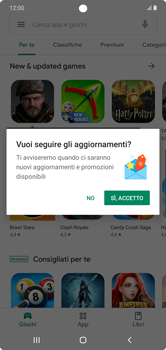 Samsung Galaxy Note 10 Plus 5G - Applicazioni - Installazione delle applicazioni - Fase 6