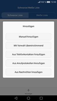Huawei P9 Plus - Anrufe - Anrufe blockieren - Schritt 9