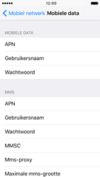 Apple iPhone 5c iOS 9 - MMS - Handmatig instellen - Stap 6