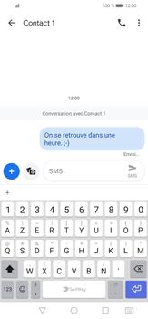 Huawei P30 lite - Contact, Appels, SMS/MMS - Envoyer un SMS - Étape 8