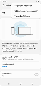 Samsung Galaxy S9 Plus - Android Pie - Internet - mijn data verbinding delen - Stap 9