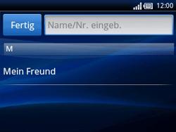 Sony Ericsson Xperia X10 Mini Pro - MMS - Erstellen und senden - 7 / 15