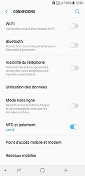 Samsung Galaxy J6 - Internet et connexion - Accéder au réseau Wi-Fi - Étape 5