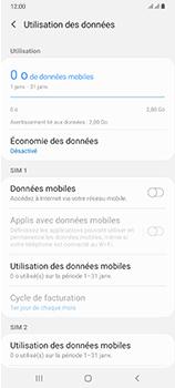 Samsung Galaxy A70 - Internet et connexion - Désactiver la connexion Internet - Étape 7