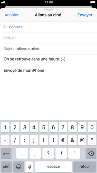 Apple iPhone 6 Plus - iOS 11 - E-mail - envoyer un e-mail - Étape 7