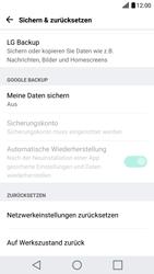 LG G5 SE (H840) - Android Nougat - Fehlerbehebung - Handy zurücksetzen - Schritt 7