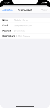 Apple iPhone 11 - iOS 14 - E-Mail - Manuelle Konfiguration - Schritt 7