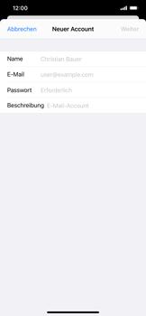 Apple iPhone 11 Pro Max - iOS 14 - E-Mail - Manuelle Konfiguration - Schritt 7