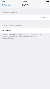 Apple Apple iPhone 6 Plus iOS 10 - E-mail - Configuration manuelle - Étape 24