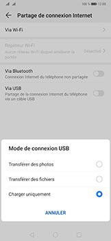 Huawei Mate 20 Pro - Internet et connexion - Utiliser le mode modem par USB - Étape 6
